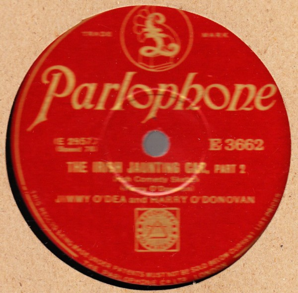 Jimmy O'Dea & Harry O'Donovan - Parlophone E.3662