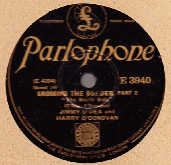 Jimmy O'Dea & Harry O'Donovan - Parlophone E.3940
