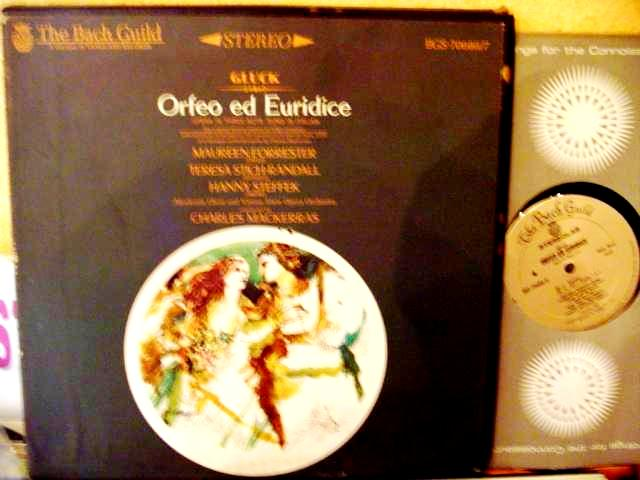 GLUCK - ORFEO AND EURIDICE - FORRESTER - MACKERRAS