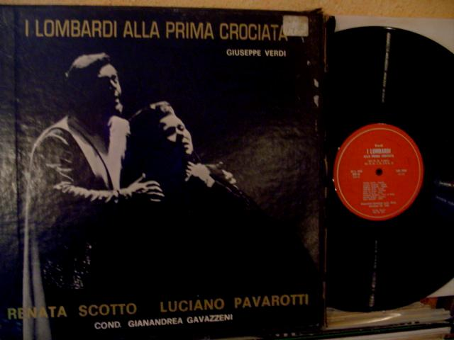 VERDI - I LOMBARDI - PAVAROTTI / SCOTTO - GAVAZZENI - PRIVATE