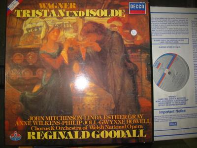 WAGNER - TRISTAN & ISOLDE - GOODALL DECCA { R 193