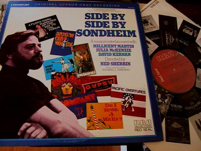 SIDE BY SIDE BY SONDHEIM - LONDON CAST - RCA 2LP