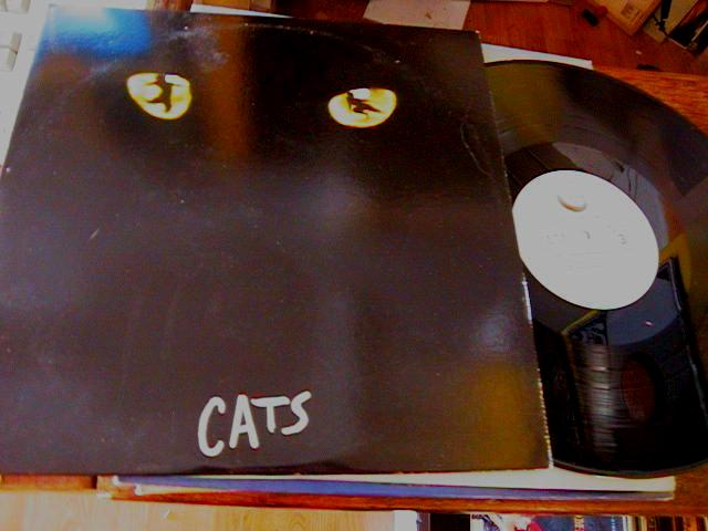 CATS - GEFFEN RECORDS 2LP