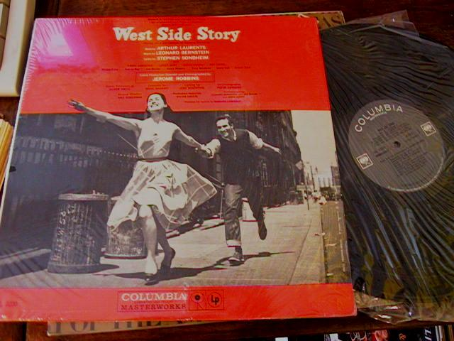 WEST SIDE STORY - BERNSTEIN - COLUMBIA 2 EYE MONO