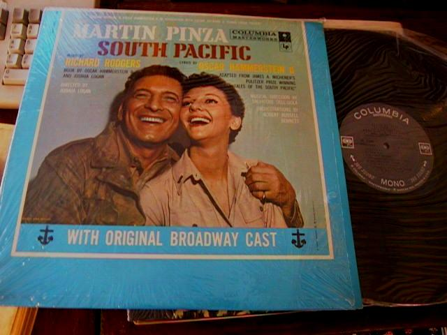 SOUTH PACIFIC - MARTIN & PINZA - COLUMBIA