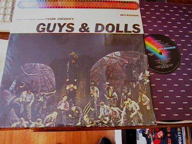 GUYS & DOLLS - ROBERT ALDA - MCA RECORDS