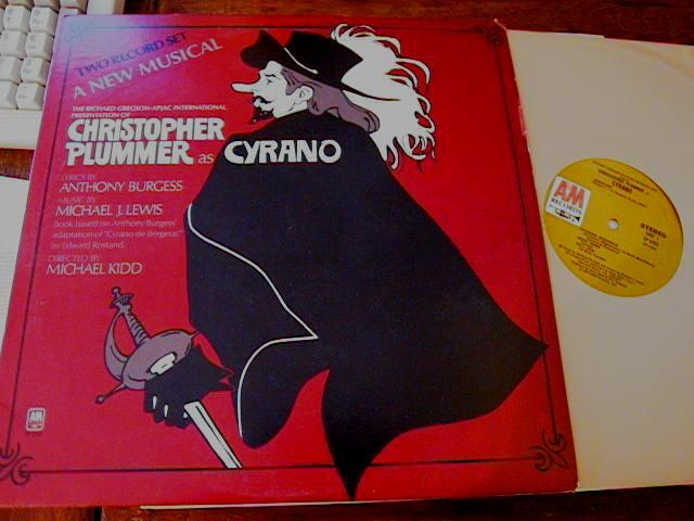 CYRANO - CHRISTOPHER PLUMMER - A&M RECORDS 2LP