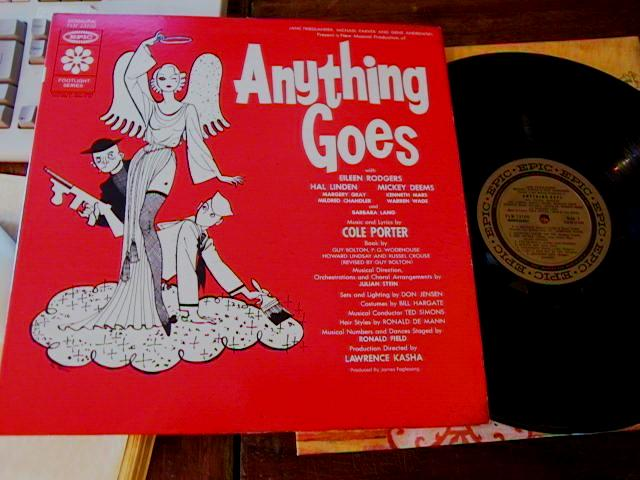 ANYTHING GOES - EILEEN RODGERS - EPIC