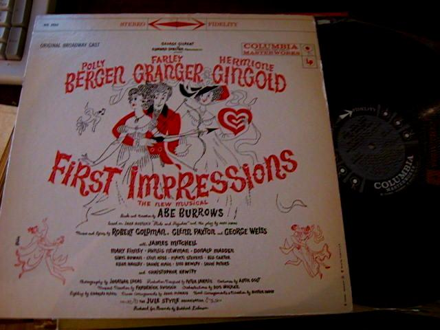 FIRST IMPRESIONS - COLUMBIA RECORDS 6 EYE STEREO