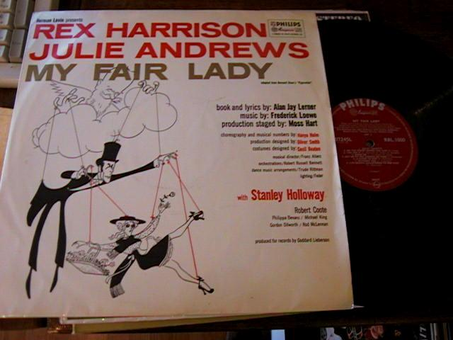 MY FAIR LADY ANDREWS - UK PHILIPS RECORDS