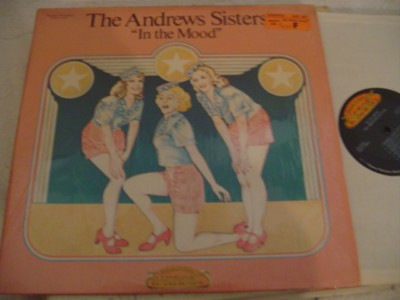 ANDREWS SISTERS - IN THE MOOD - 2LP { OC 416