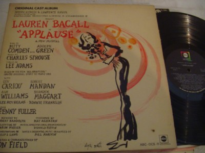 APPLAUSE - LAUREN BACALL - ABC { 414