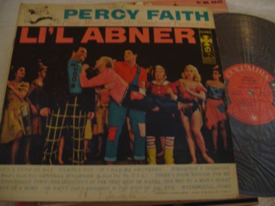 LI'L ABNER - SELECTIONS PERCY FAITH - COLUMBIA { 407
