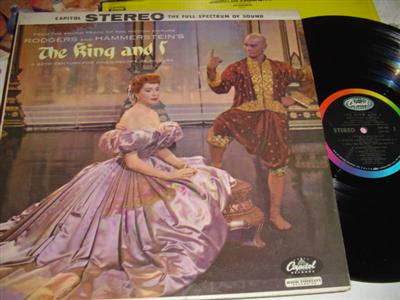 THE KING AND I - BRYNNER & KERR - CAPITOL { 290