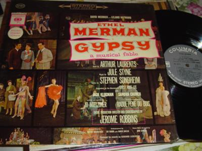 GYPSY - ETHEL MERMAN - COLUMBIA { 282