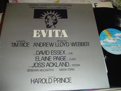 EVITA - ESSEX & PAIGE - MCA UK { 280