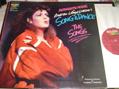 SONG & DANCE - BERNEDETTE PETERS - RCA { 276