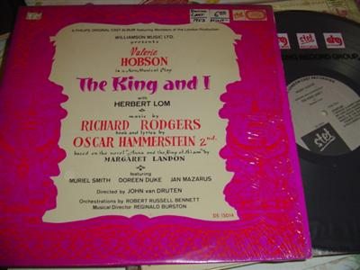 THE KING AND I - HOBSON SMITH UK - STET { 275