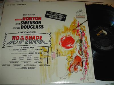 110 IN THE SHADE - HORTON SWENSON - RCA { 266