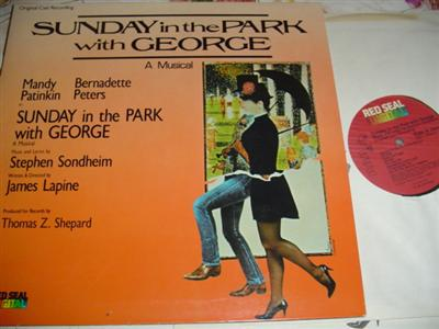 SUNDAY IN PARK WITH GEORGE - PETERS PATINKIN - RCA { 265