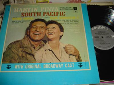 SOUTH PACIFIC - MARTIN & PINZA - COLUMBIA {249
