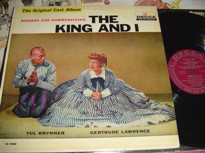 THE KING AND I - BRYNNER & LAWRENCE - DECCA { 248