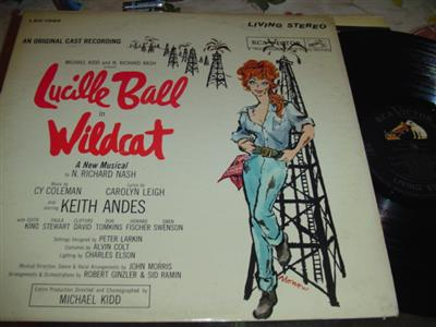 WILDCATT - LUCILLE BALL - RCA { 246