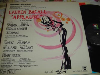 APPLAUSE - LAUREN BACALL - ABC { 238