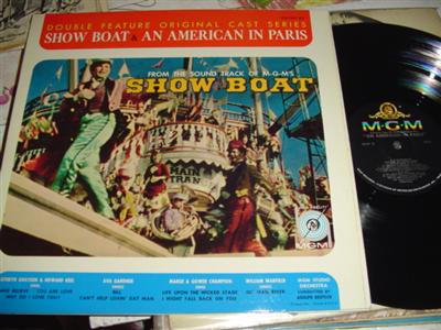 SHOW BOAT & AMERICAN IN PARIS - DOUBLE FEATURE - MGM {236