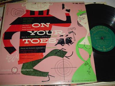 ON YOUR TOES - NELSON CASSIDY - COLUMBIA { 225