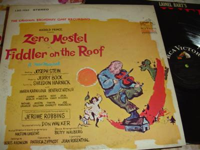 FIDDLER ON THE ROOF - ZERO MOSTER - RCA { 210