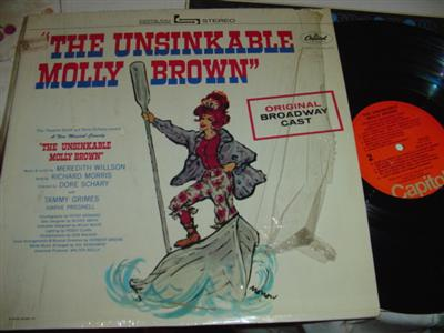 UNSINKABLE MOLLY BROWN - WILLSON - CAPITOL { 209