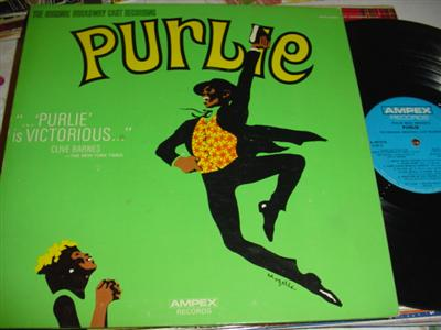 PURPLE - CLEAVON LITTLE , MELBA MOORE - AMPEX { 208