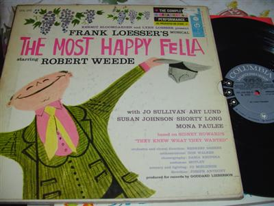 THE MOST HAPPY FELLA - COLUMBIA 3LP { 89