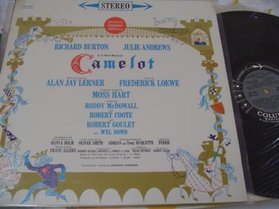 CAMELOT - BURTON & ANDREWS - COLUMBIA 6 EYE STEREO { 75