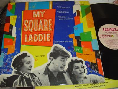 MY SQUARE LADDIE - ZASU PITTS - FOREMOST { 45