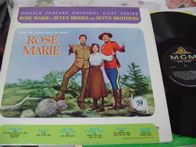 ROSE MARIE - 7 BRIDES 7 BROTHERS - MGM DOUBLE { 25