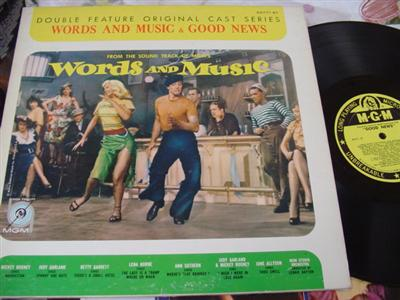 WORDS & MUSIC - GOOD NEWS - MGM DOUBLE FEATURE { 24