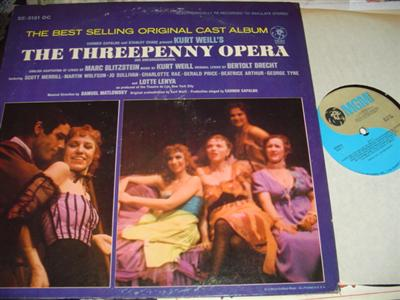 THE THREPENNY OPERA - LOTTE LENYA - MGM { 23