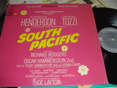 SOUTH PACIFIC - HENDERSON & TOZZI - COLUMBIA { 18