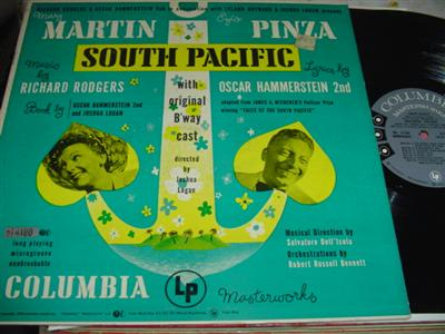 SOUTH PACIFIC - MARTIN & PINZA - COLUMBIA { 17