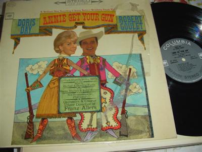 ANNIE GET YOUR GUN - DORIS DAY - COLUMBIA { 9
