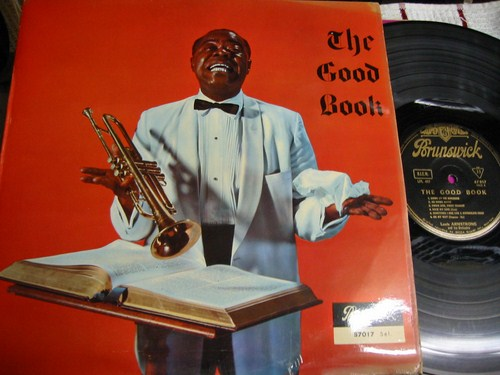 Louis Armstrong - The Good Book - Brunswick France