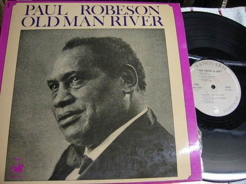 Paul Robeson - Old Man River - Vanguard France