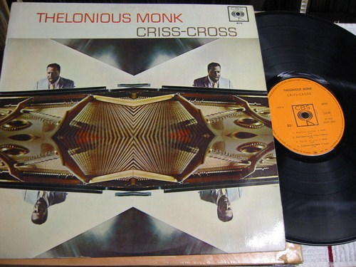 Thelonious Monk - Criss Cross - CBS MONO France