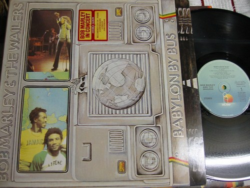 Bob Marley - Babylon by Bus - Island 2LP - France