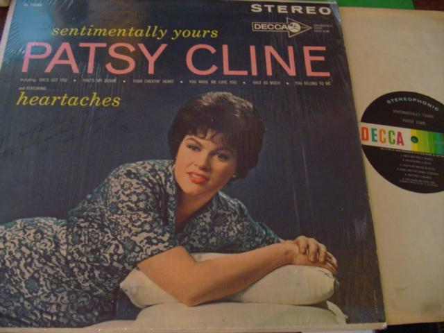 PATSY CLINE - SENTIMENTALL YOURS - DECCA - AF 299