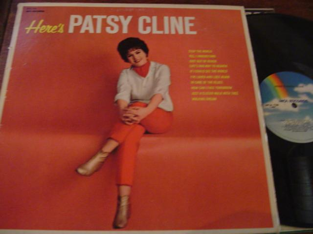 PATSY CLINE - HERES PATSY CLINE - MCA - AF 300