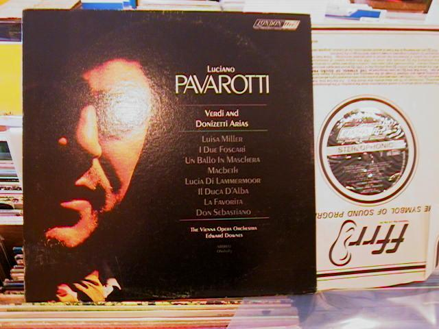 PAVAROTTI - VERDI DONIZETTI - LONDON MV 86