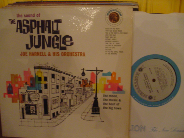 Joe Harnell - Asphalt Jungle - Medallion 1960s Mono { Myerrs